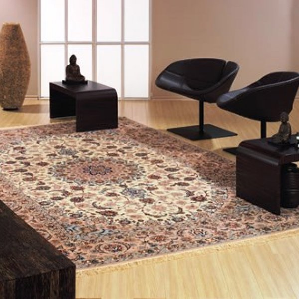 Isfahan Medalion Beige